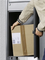 paketbox zum briefkasten. Black Bedroom Furniture Sets. Home Design Ideas