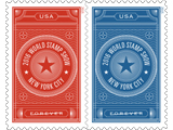 Briefmarke zur World Stamp Show 2016 - Briefmarken sammeln
